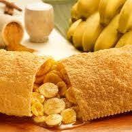 Pastel Banana com Canela