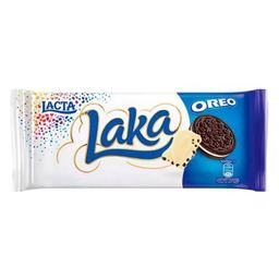 Barra de Chocolate Laka Oreo