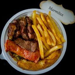 Marmitex com Carne de Boi