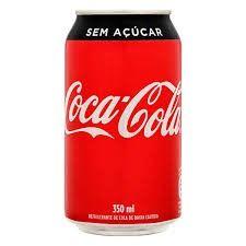 Coca Lata Zero 350ml