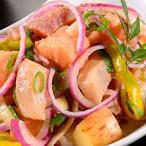 Ceviche salmão