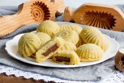 Biscoito de Semolina Recheado de Tâmara