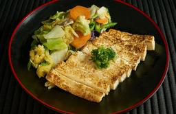 Teppan tofu