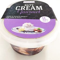 Sorvete nuty cream gourmet