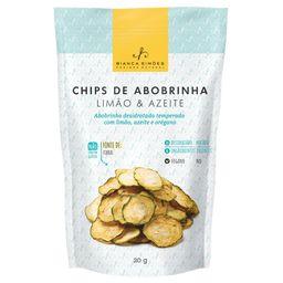 Chips de Abobrinha Limão e Azeite