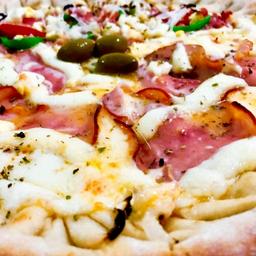 Pizza de  Lombo com Catupiry - Grande