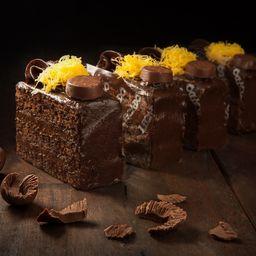 Torta Bombom - Fatia