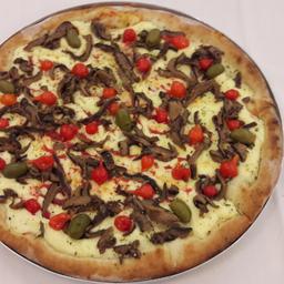 Pizza de Shitake - Broto