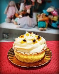 Tortinha Mousse de Maracujá