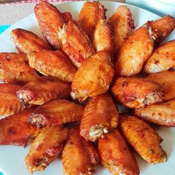 Porção de Asinhas de Frango Fritas