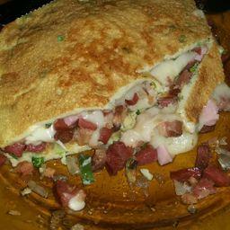 Omelete de Bacon