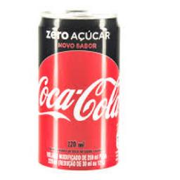 Coca Zero Lata (220ML)