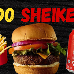 Hambúrguer do Shaike Completo
