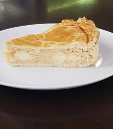Torta Salgada De Frango Com Requeijão - Fatia