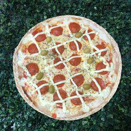 Pizza de Pepperoni com catupiry