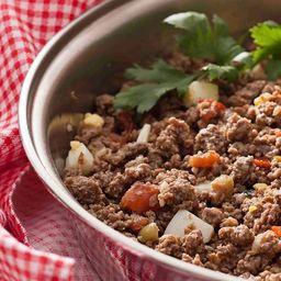 Patinho Moído (carne) C/ Cenoura Cozida