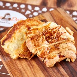 Croissant Simples na Chapa