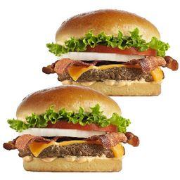 """Bacon Cheddar Single """"leva 2 Paga 1"""""""
