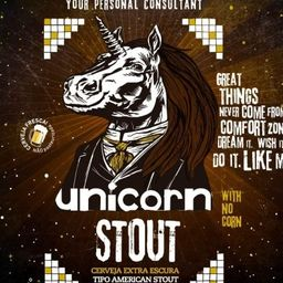 33 -unicorn - Stout - Growler 1l