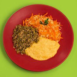 Congelado - quinoa com ervilha