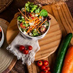 Mix de Folhas, Tomate Cereja e Pepino