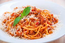 Espaguete  mais contrafilé suculento