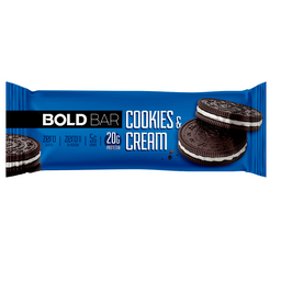 Bold Bar Cookies e Cream - 60g