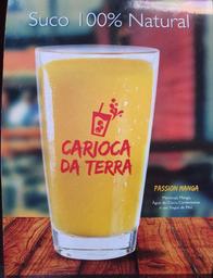 Suco Carioca da terra - Passion manga
