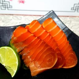 Sashimi de Salmão Zuke - 06 Lâminas