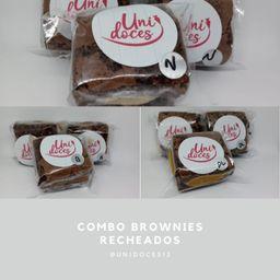 Combo Brownie Recheado