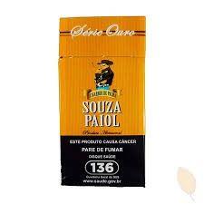 Souza paiol ouro cigarro de palha