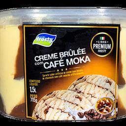 Creme Brulée com Café Moka