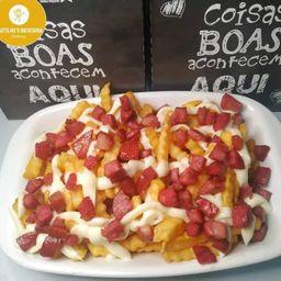 Batata Frita com Bacon e Catupiry