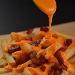 Batata Cheddar com Bacon