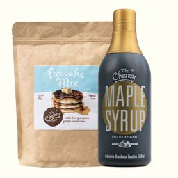 "Maple Syup + Mix de Panqueca ""Pancake Mix"""