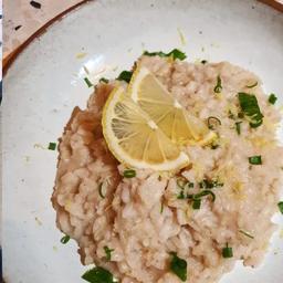 Risoto Limão Siciliano Vegetariano