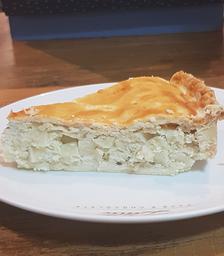 Torta Salgada De Palmito - Fatia