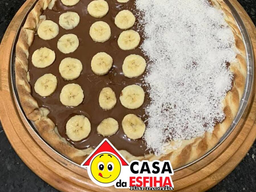 Pizza Meio a Meio Doce - Brotinho