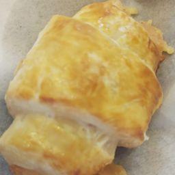 Croissant de Peito de Peru com Provolone