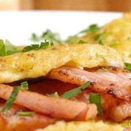 Crepioca de Bacon