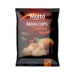 Batata Chips Maitá Costelinha com Limão - 45g