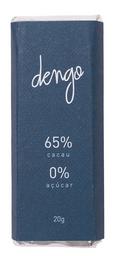Chocolate amargo 65% zero açúcar - 20g