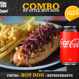 Combo Ny Style Hot Dog
