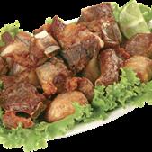 Costelinha de Porco Frita