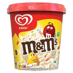 Sorvete Kibon M&M's 800ml
