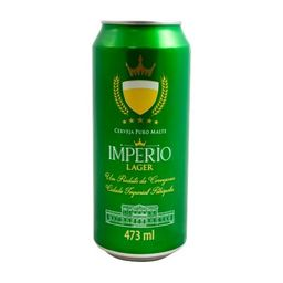 Cerveja Império Lager Lata 473ml