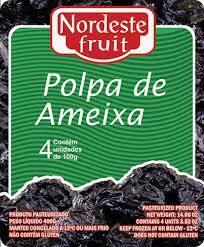 Polpa de Ameixa Nordeste Fruit - 400g