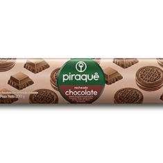 Biscoito recheado chocolate piraquê