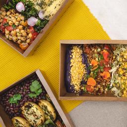 2 pratos orgânicos do dia