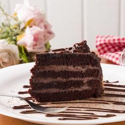 Devil's Cake - fatia